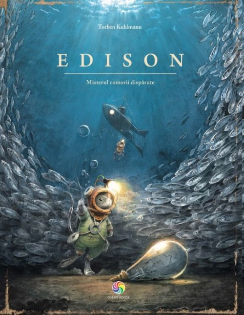 """""""Edison - Misterul comorii dispărute"""" de Torben Kuhlmann"""