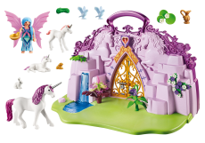 Grădina Zânelor, set portabil - PLAYMOBIL Fairies - 6179