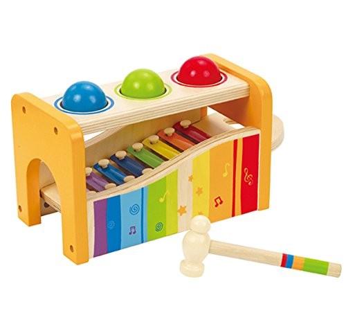 Xilofonul cu ciocan - jucarie muzicala - jucarie bebe - Hape Germania