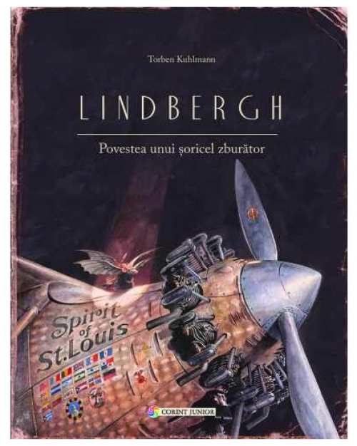"""""""Lindbergh - Povestea unui şoricel zburător"""" de Torben Kuhlmann"""