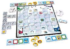 Iarna - Joc de cooperare pentru copii