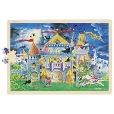 Puzzle lemn gigant - 192 piese - Basmele copilăriei