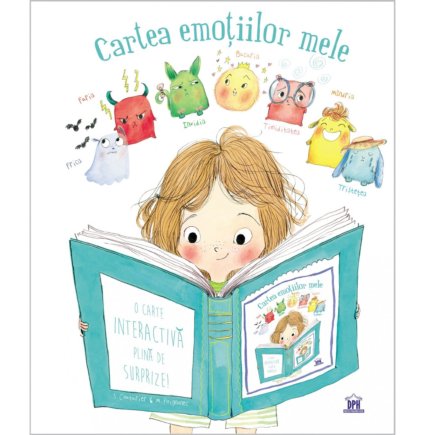 Cartea emotiilor mele - Stephanie Couturier - Maureen Poignonec  - carte copii - editura DPH