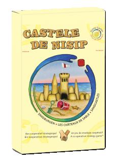 Castele de nisip - Joc de tactică şi cooperare