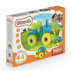 Qboidz - 4 in 1 - Tractorul
