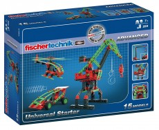 Set Ştiinţă Fischertechnik - Advanced Universal Starter - 15 modele