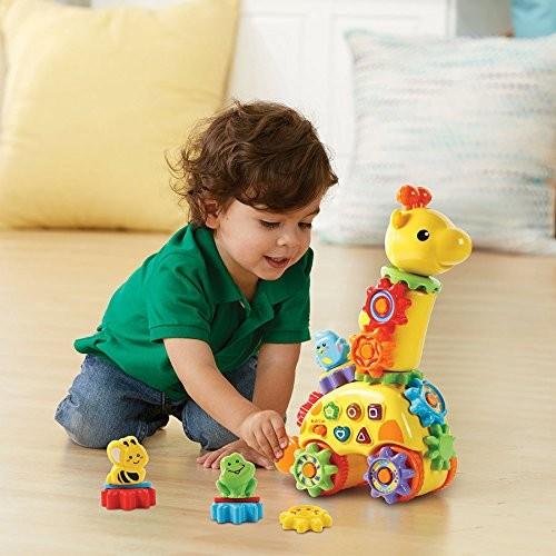 Girafa cu Rotite - jucarie electronica interactiva bebe Vtech 3