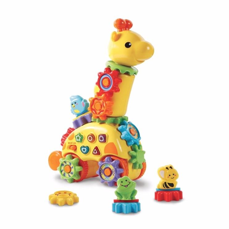 Girafa cu rotite - jucarie electronica interactiva Vtech 2