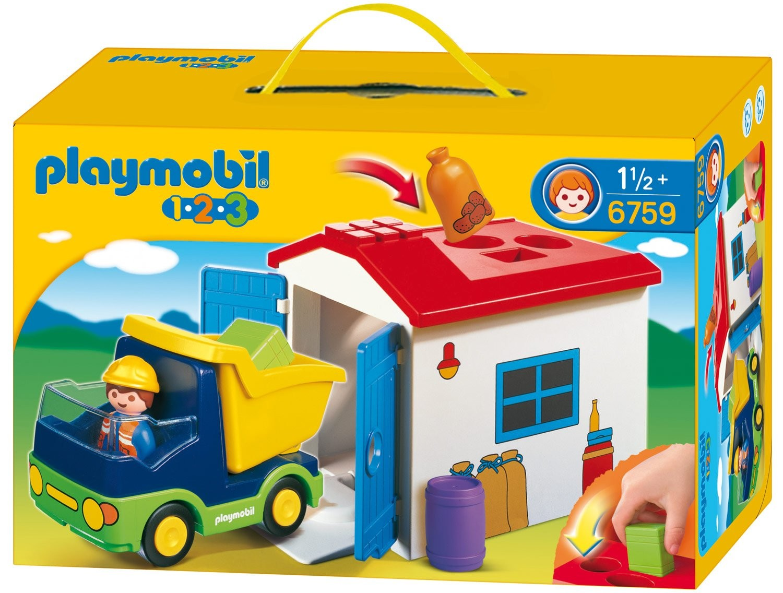 Playmobil 123 - 6759 - Camion cu garaj
