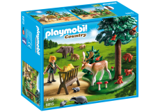 Teren împădurit şi animale - PLAYMOBIL Country - 6815