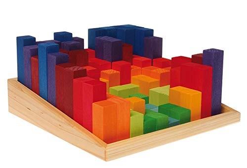 Set educativ lemn - masurare si culori - Grimms Germania 2