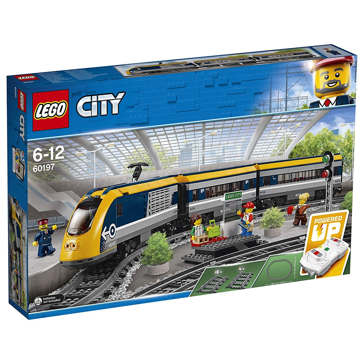 Tren de calatori - Lego-City-60160-i2