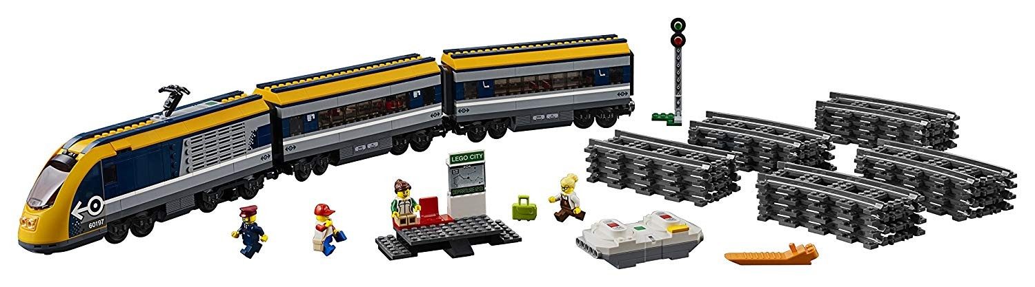 Tren de calatori - Lego-City-60160-i3