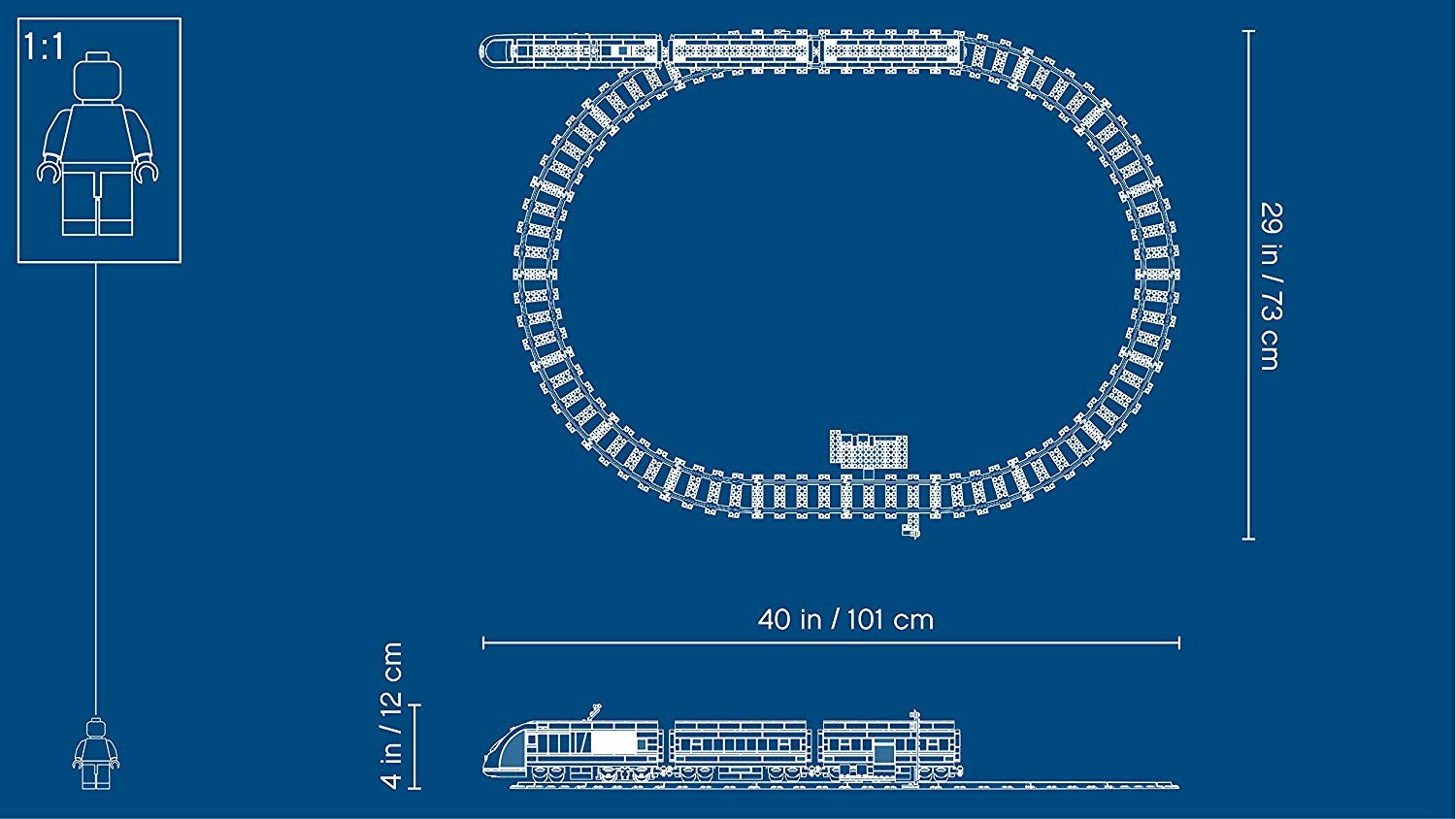 Tren de calatori - Lego-City-60160-i5