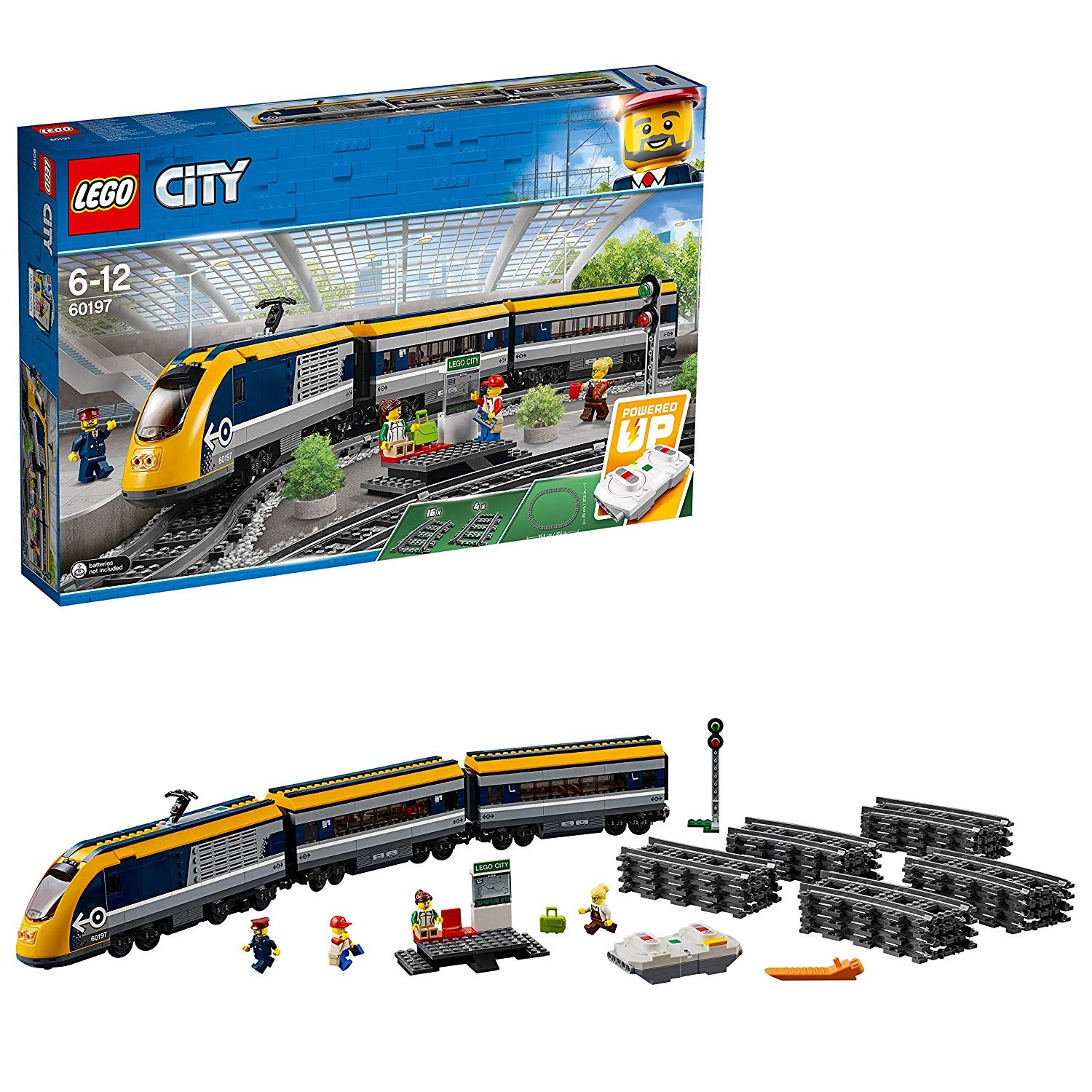 Tren de calatori - Lego-City-60160