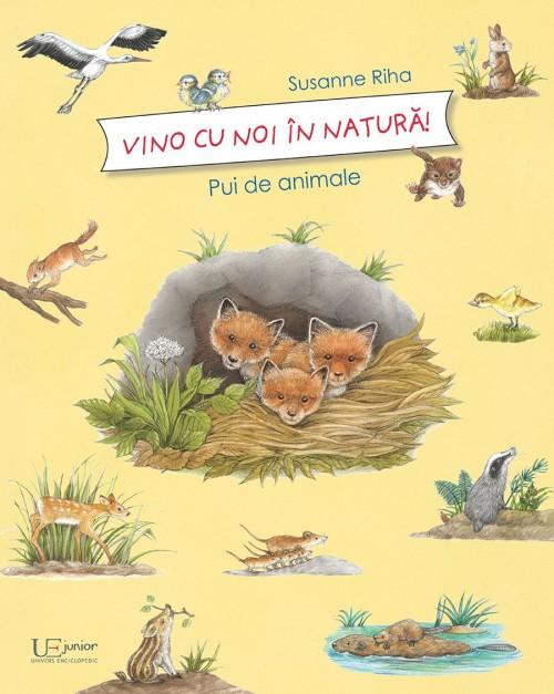 """""""Vino cu noi în natură - Pui de animale"""" de Susanne Riha"""