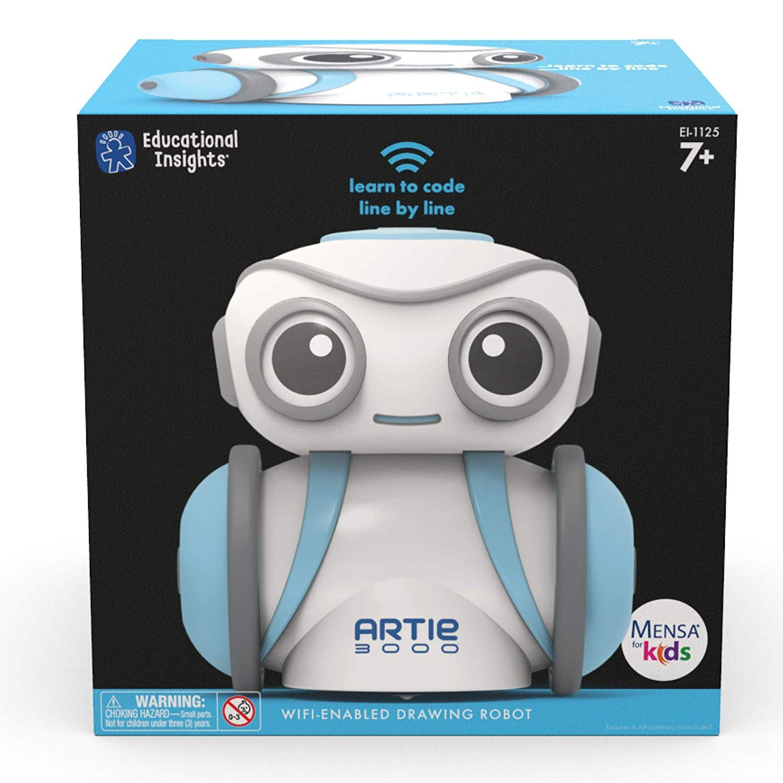 Artie 3000 - jucarie robotica - micul artist robot - Educational Insights 4