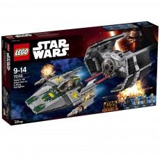 Darth Vader TIE Advanced contra A-Wing Starfighter (75150) - LEGO Star Wars