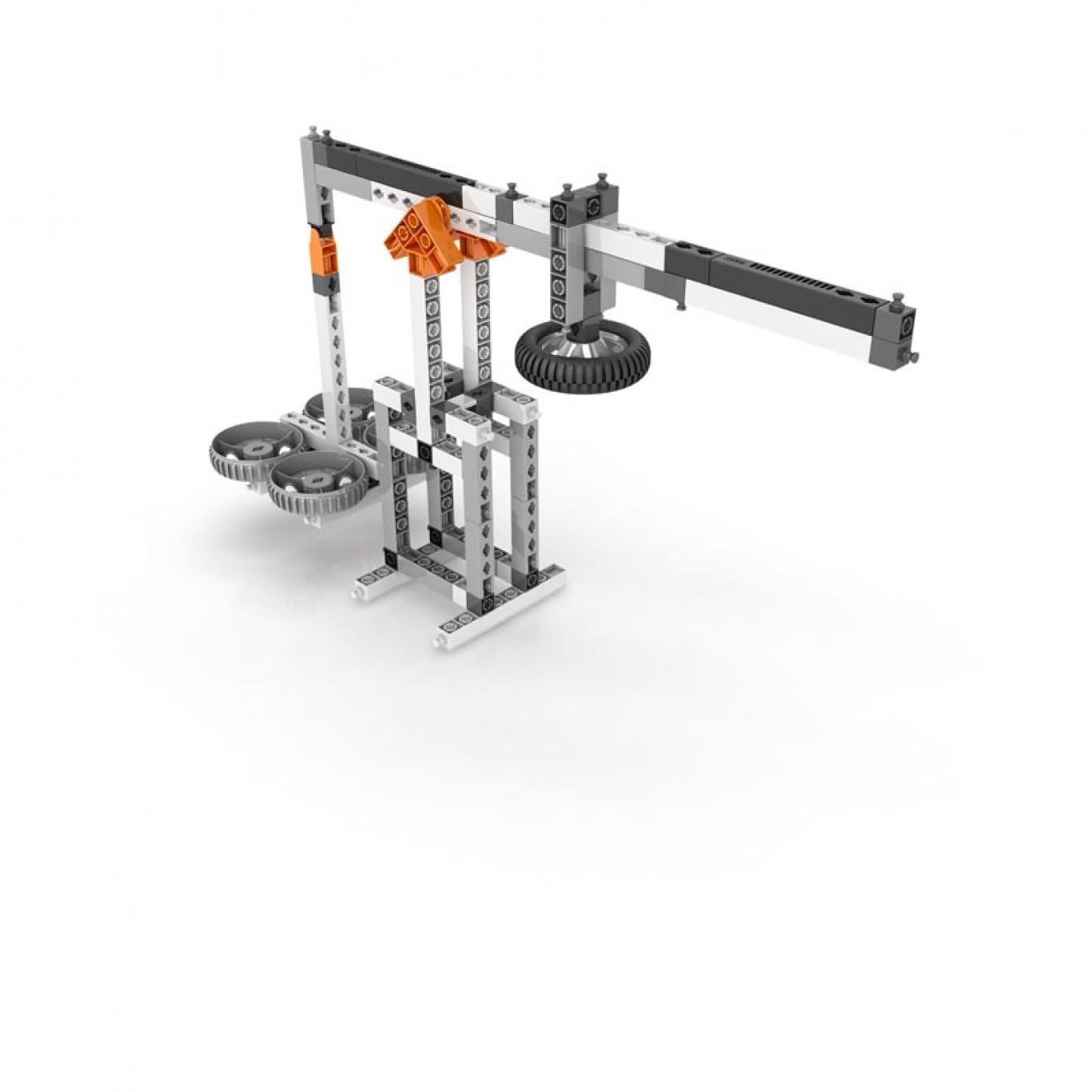 Engino Discovering STEM - Set mecanica - parghii si legaturi 6