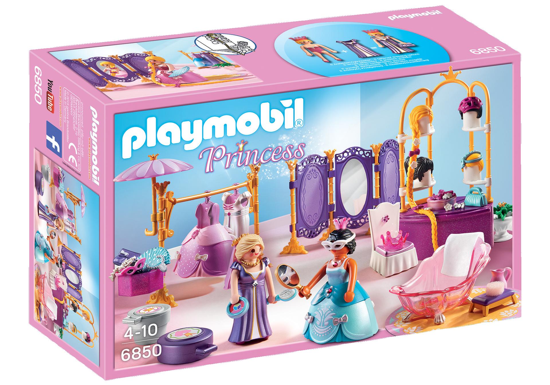 Garderoba cu Salon - Playmobil Princess 6850