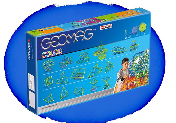 Geomag original color 91 - Jucarie magnetica STEM 2
