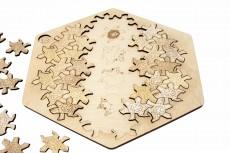 Puzzle geometric - Hexagon