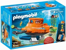 Submarin cu motor subacvatic - PLAYMOBIL Sports&Action - PM9234