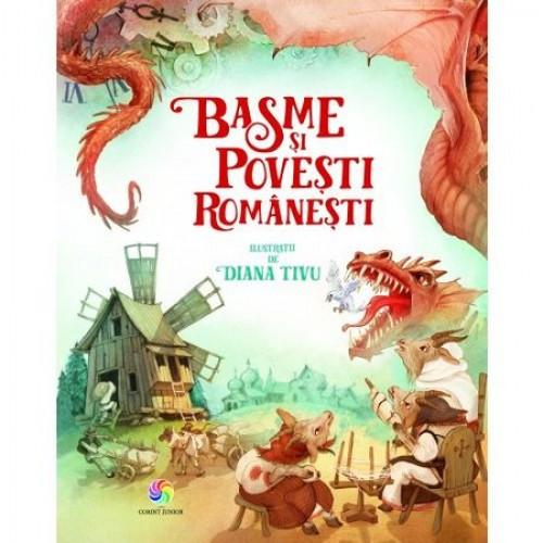"""""""Basme şi poveşti româneşti"""" - ilustraţii de Diana Tivu"""