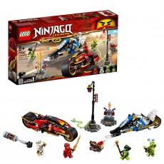 Vehiculele lui Kai si Zane - Motocicleta si snowmobilul (70667)  - LEGO Ninjago