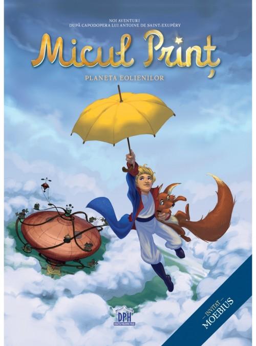 """""""Micul Prinţ - Planeta Eolienilor"""" de Julien Magnat după Antoine de Saint-Exupery"""