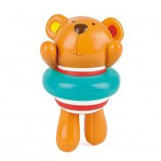 Set Teddy Înotătorul - set cu 2 jucării acvatice, simpatice şi îndemânatice