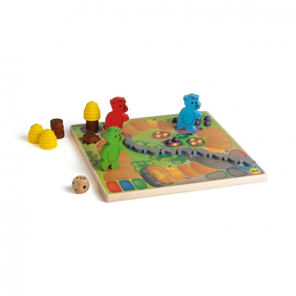 Ursuletii de pregatesc de hibernare - joc gandire strategica pentru copii - Erzi Germania 2
