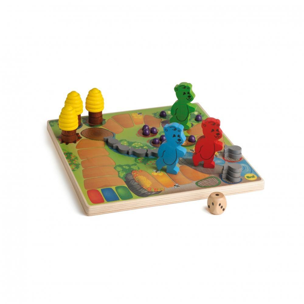 Ursuletii de pregatesc de hibernare - joc gandire strategica pentru copii - Erzi Germania 3