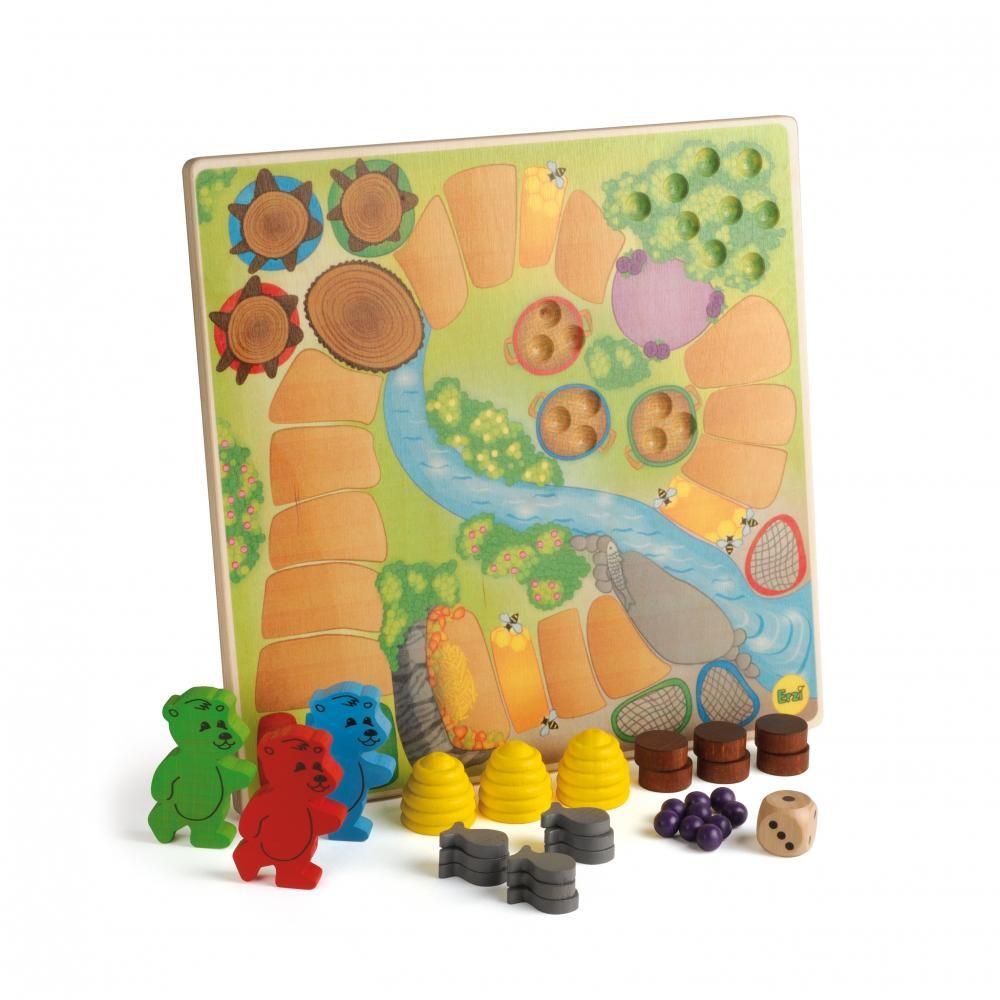 Ursuletii de pregatesc de hibernare - joc gandire strategica pentru copii - Erzi Germania 4