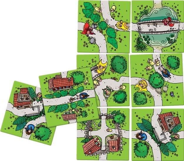 Carcassonne Junior - Boardgame joc copii - limba romana - Hans im Glueck - Oxygame 2