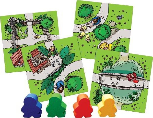 Carcassonne Junior - Boardgame joc copii - limba romana - Hans im Glueck - Oxygame 3
