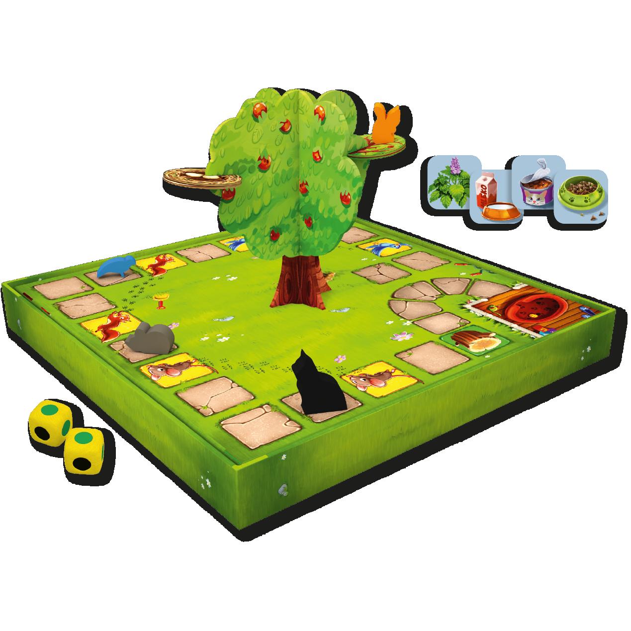 Max motanul - Joc Board Game cooperativ pentru copii - Sunny Games 2