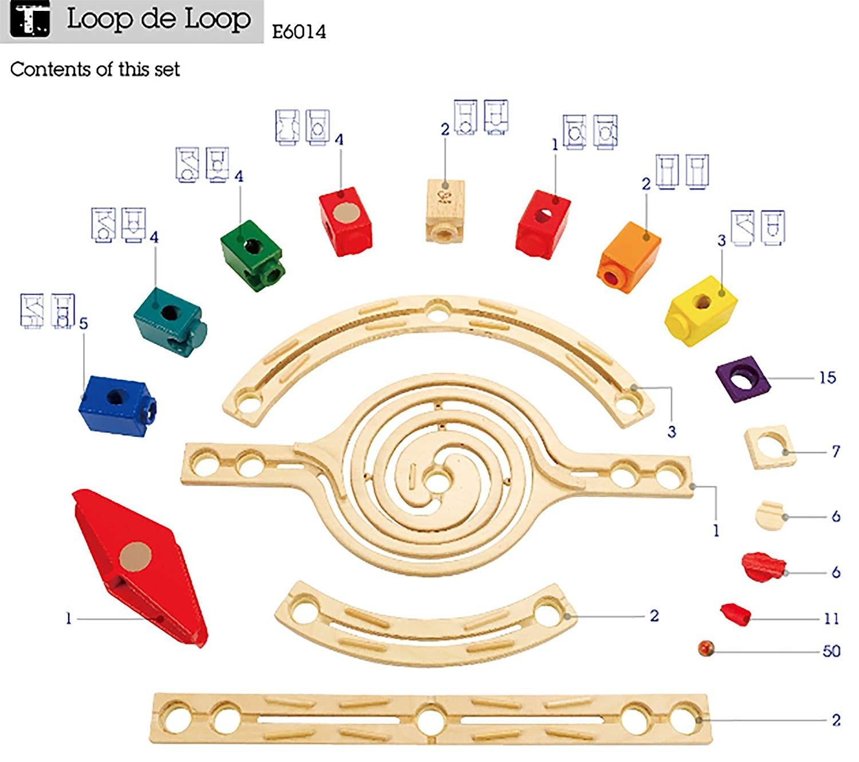 Circuit Bile Quadrilla - Loop de Loop - Hape Germania 4