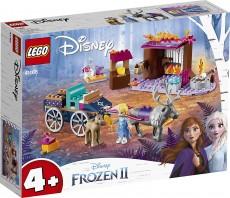 Aventura Elsei cu trasura - LEGO Disney Frozen II (41166)