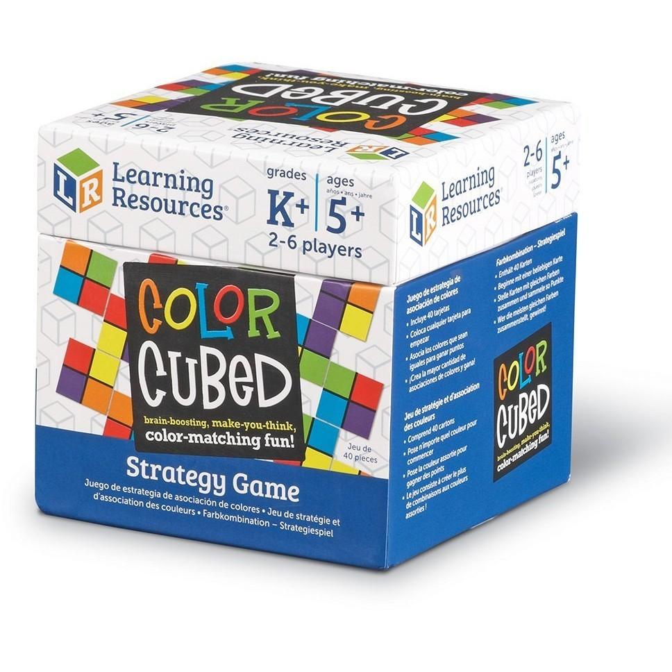 Cubul culorilor - joc strategic cognitiv - asociere culori - Learning Resources UK 2
