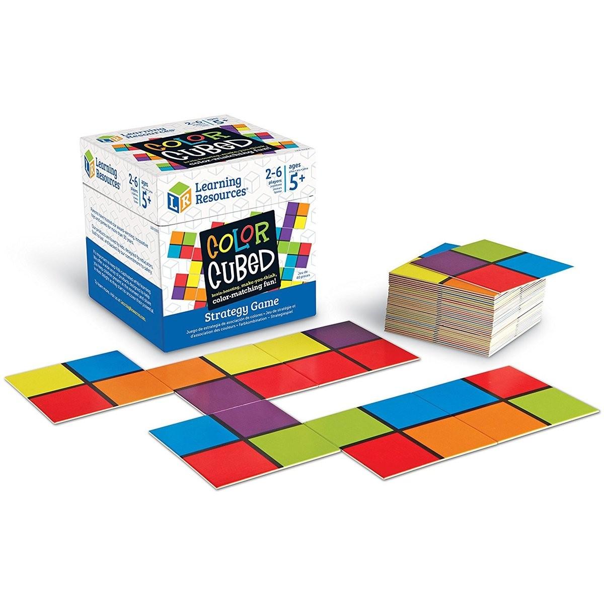 Cubul culorilor - joc strategic cognitiv - asociere culori - Learning Resources UK