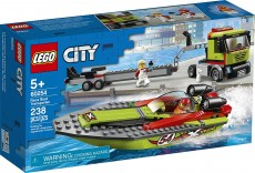 Transportor de barca de curse (60254) - LEGO City