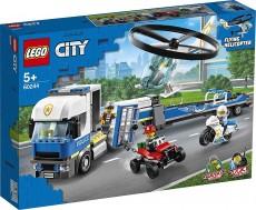 Transportul elicopterului de politie (60244) - LEGO City