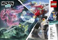 Camionul de cascadorii al lui El Fuego (70421) - LEGO Hidden Side
