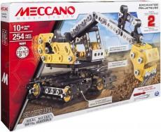 Meccano - Buldozer Excavator - Set asamblare metal