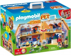 Clinica Veterinara - PLAYMOBIL Pet Clinic - 5870