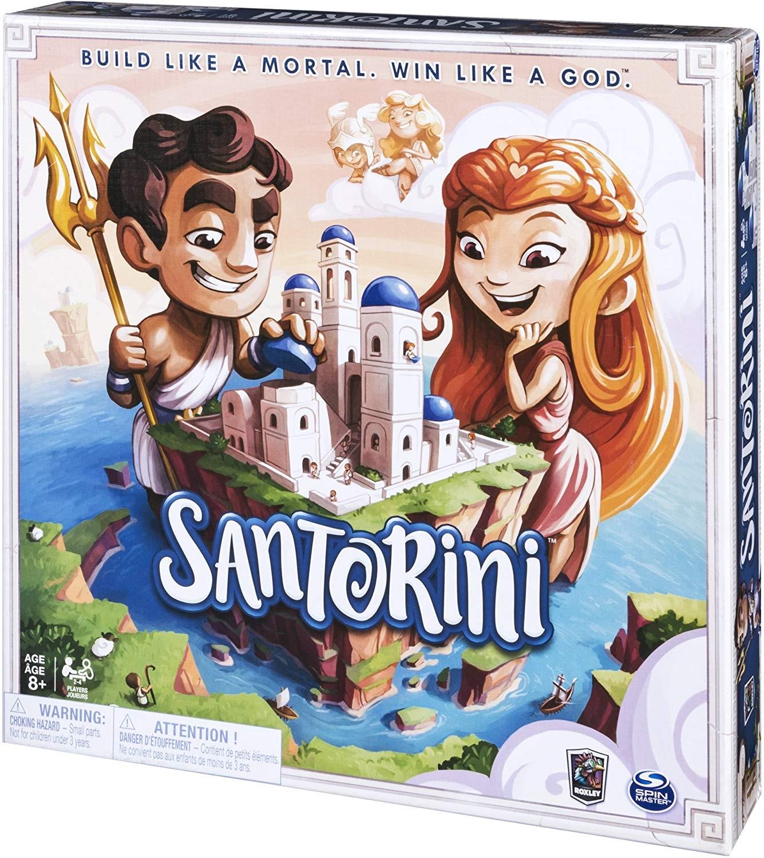 Santorini - joc boardgame copii - Spinmaster - Roxley