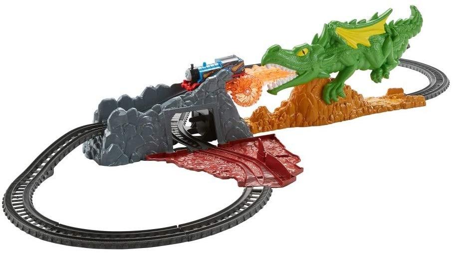 Thomas si prietenii - Provocarea dragonului - trenulet electric - Mattel