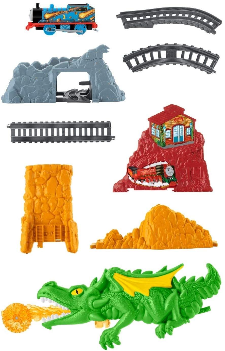 Thomas si prietenii - Provocarea dragonului - trenulet electric - Mattel 3