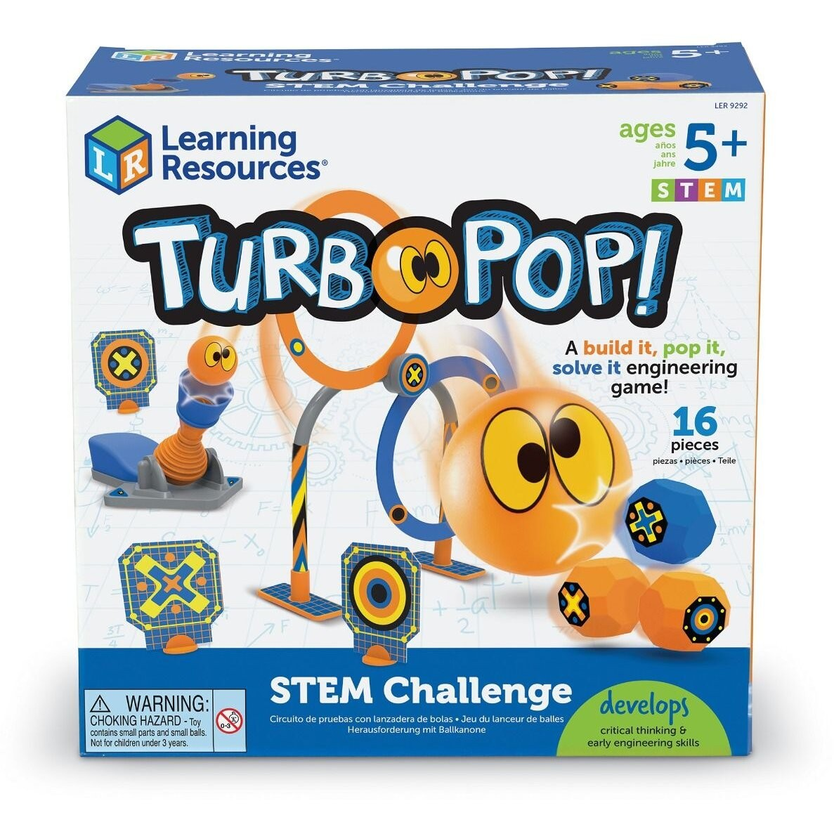 Turbo Pop - Jucarie STEM copii - Learning Resources UK